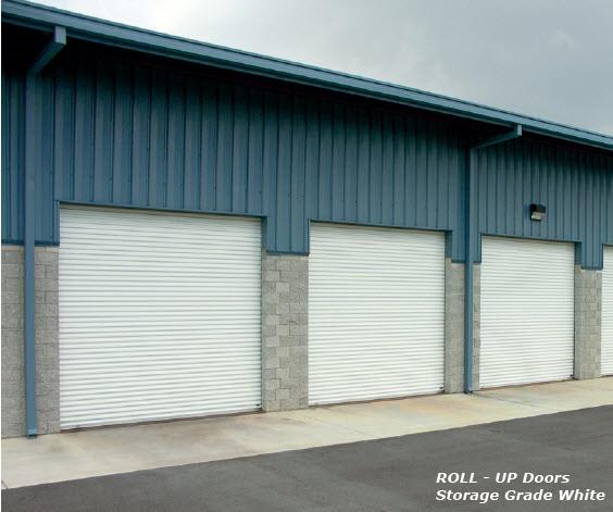 Commercial Roll-up Garage Doors