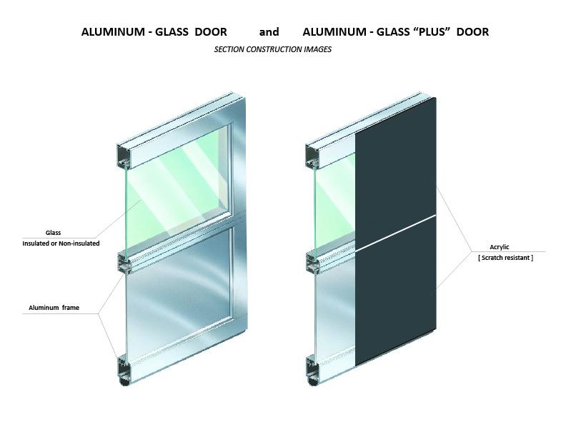 Aluminum Glass And Glass Plus Garage Doors Facade Door Systems